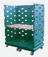 Double Rollet Plastic Shipping Cage